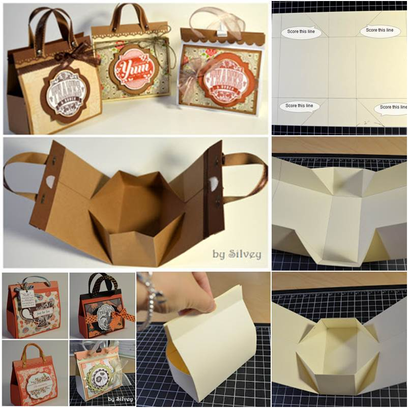 How to DIY Beautiful Mini Gift Bags