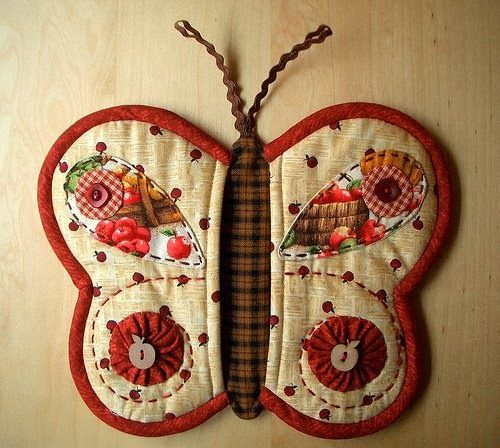 How to DIY Butterfly Pot Holder 5