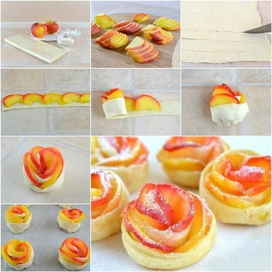 How to DIY Delicious Apple Rose Puff Pastry
