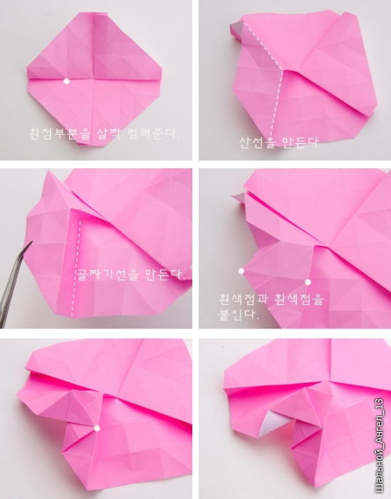 How to DIY Pretty Origami Rose - photo#15