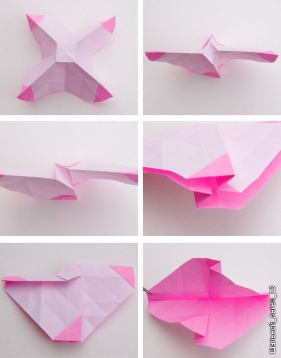 How to DIY Pretty Origami Rose - photo#12