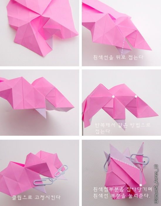 How to DIY Pretty Origami Rose - photo#19