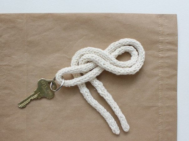 How To Diy Easy Knot Key Holder