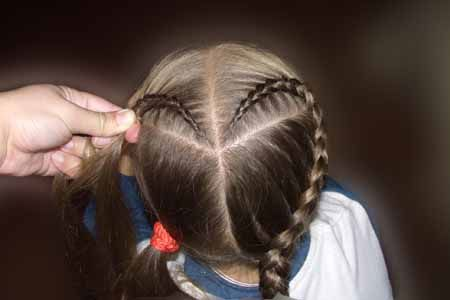How To Make Diy Heart Shaped Braids Hairstyle