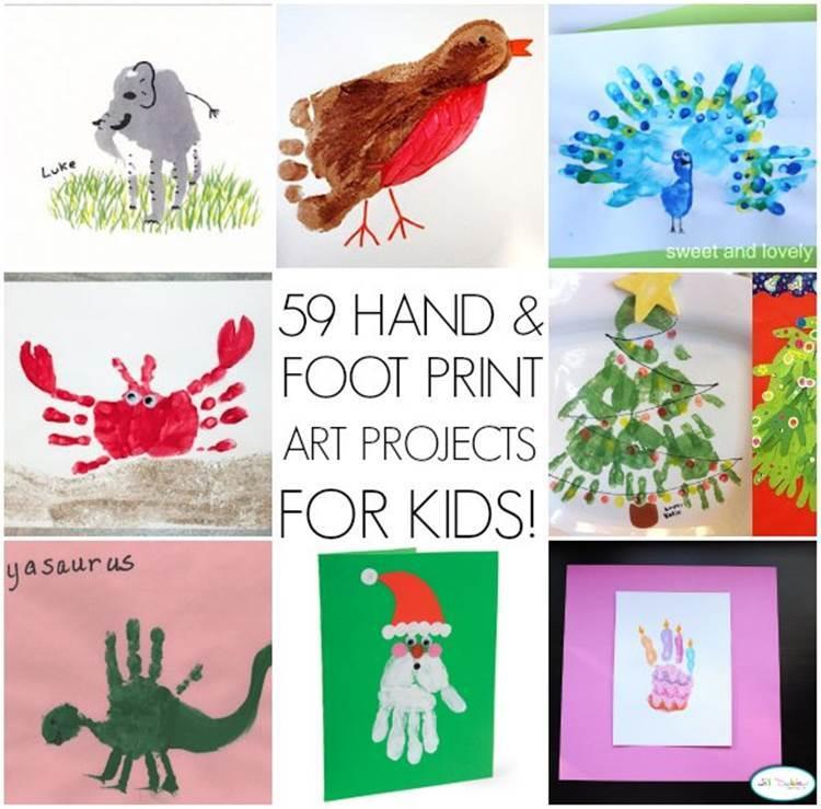59 Creative Handprint Art Ideas for Kids