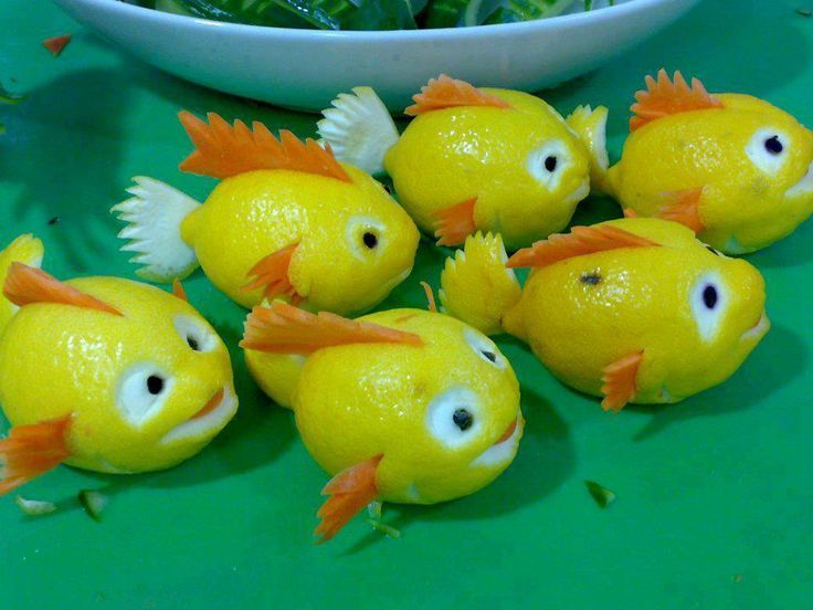 Lemon and Carrot Fish