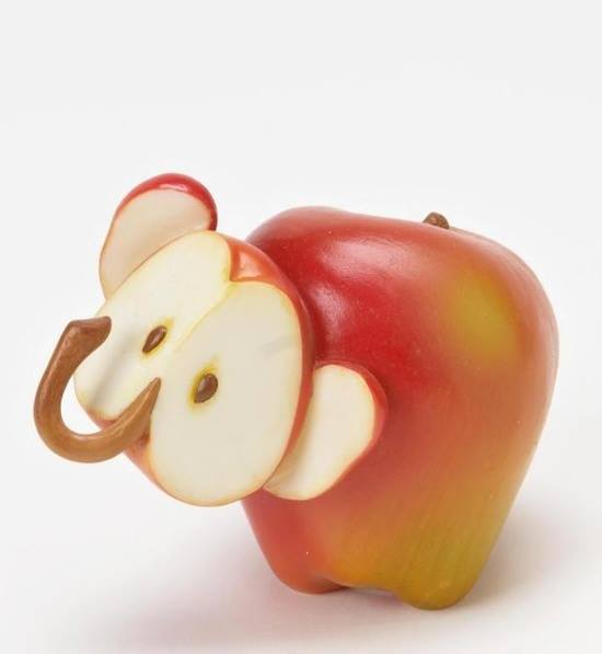 Creative Animals Made of Fruits And Vegetables 33
