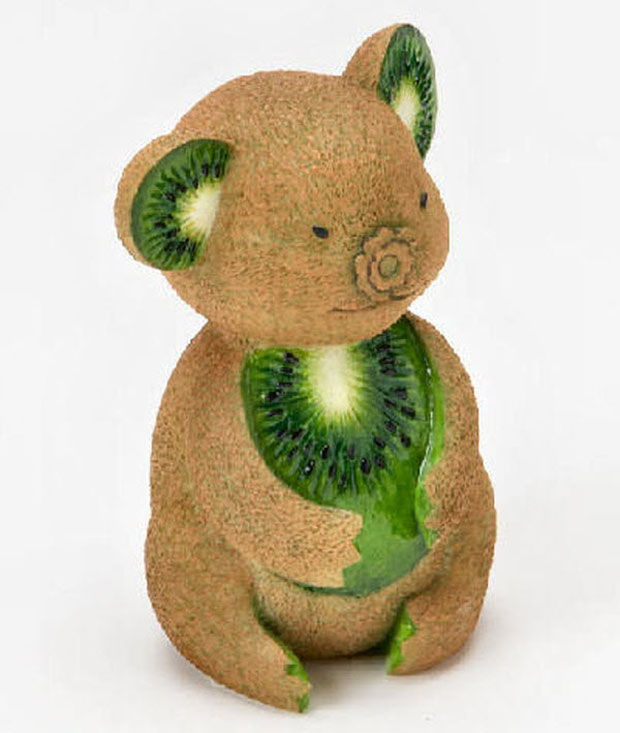 Creative Animals Made Of Fruits And Vegetables