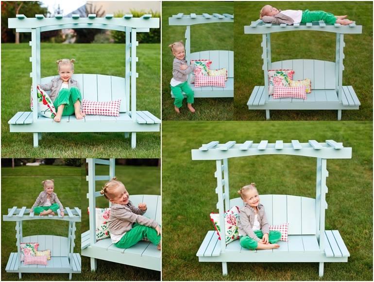Creative Diy Outdoor Arbor Bench For Kids