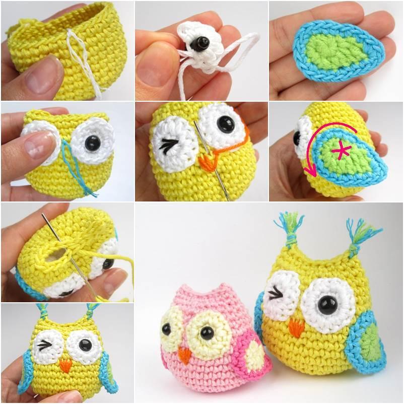 How to DIY Adorable Crochet Owl