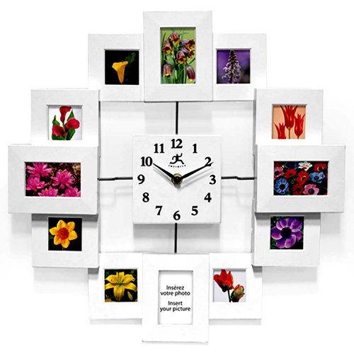 How to DIY Creative Photo Frame Wall Clock 1