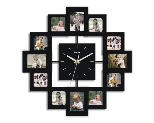 ... How To DIY Creative Photo Frame Wall Clock 2 ...