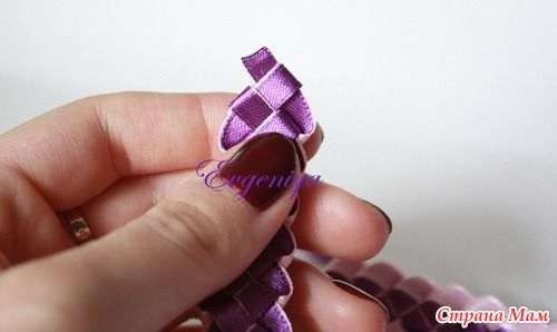 How To Weave Four Strand Braided Ribbon