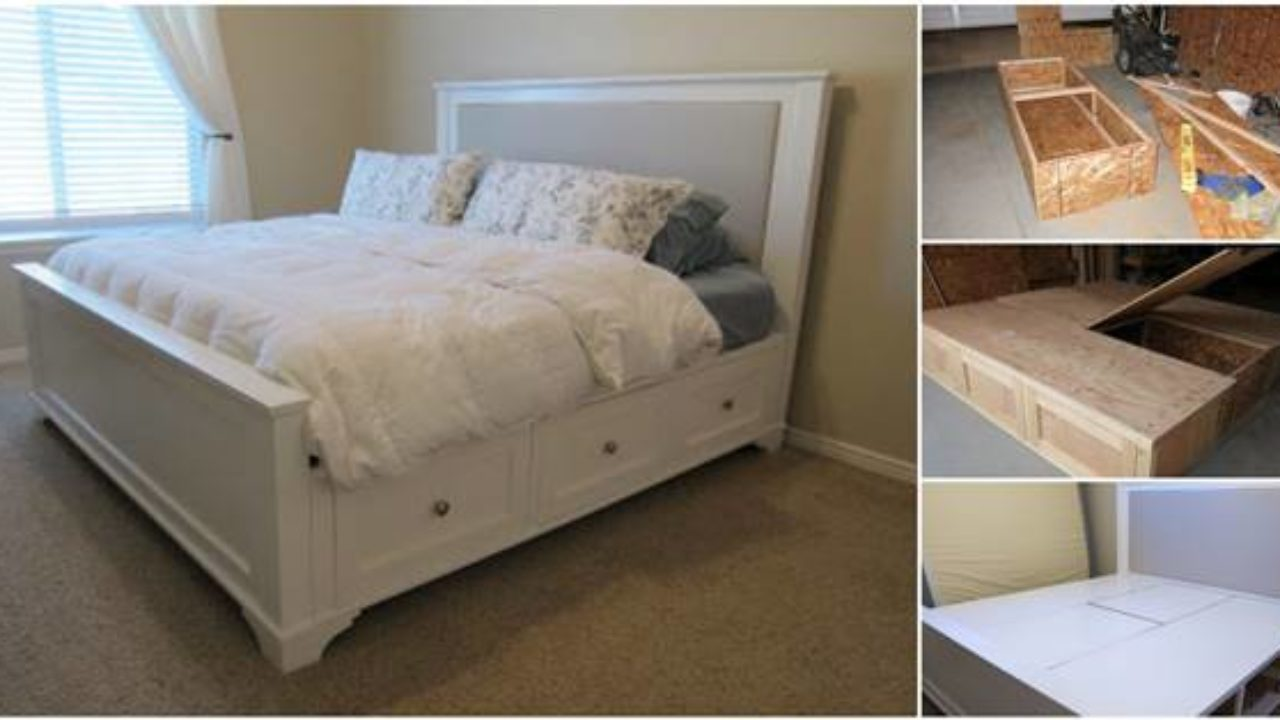 King Size Bed Design Plans Tunkie