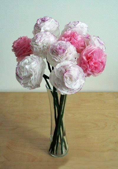 Creative Ideas - DIY Beautiful Tissue Paper Flowers 7