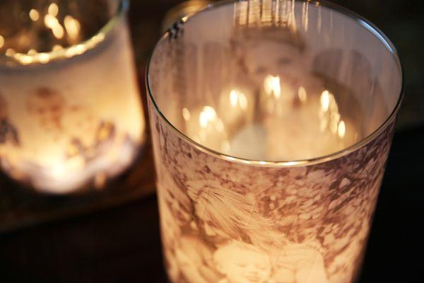 Creative Ideas - DIY Glowing Photo Luminary 2