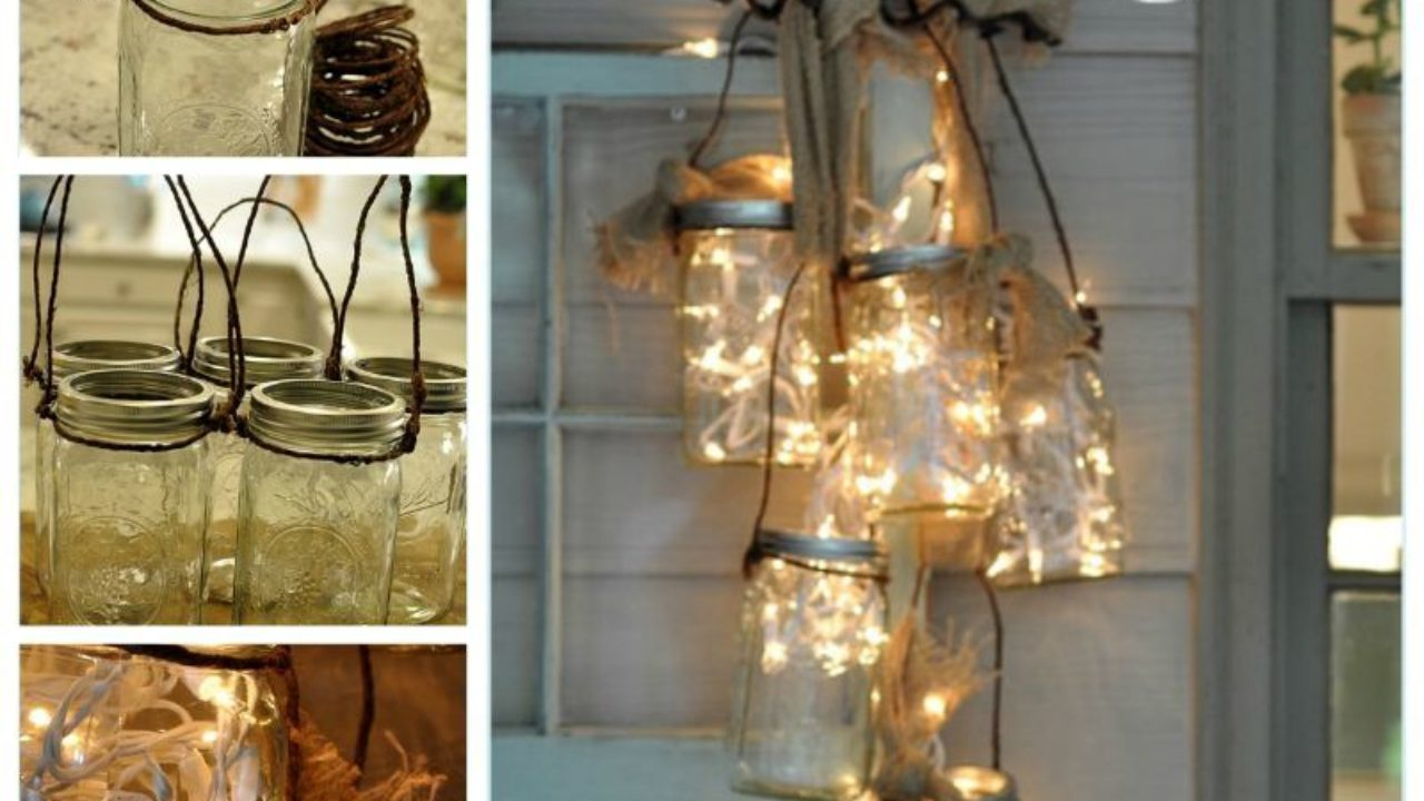 Creative Ideas Diy Mason Jar Light