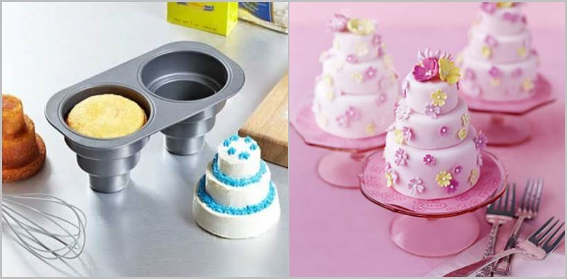 Ideas MiniWedding Cake Pan - Mini Wedding Cake Mold