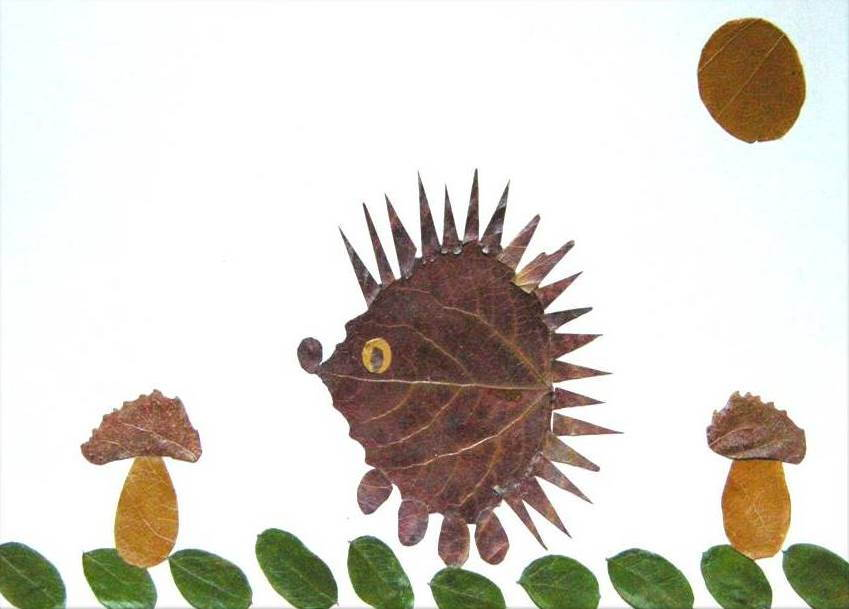 Creative Leaf Animal Art - Leaf Fish