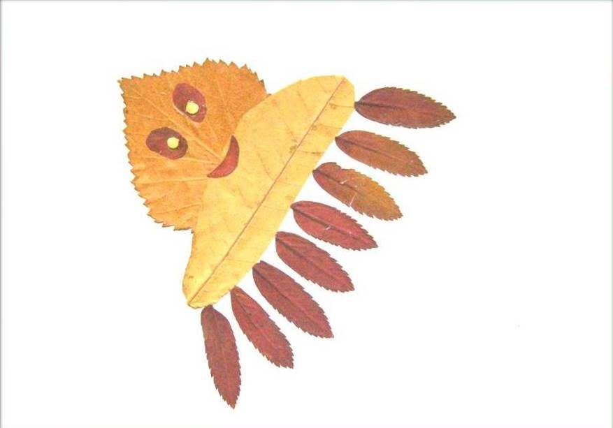 Creative Leaf Animal Art