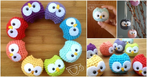 58 Crochet Owls (Free Patterns) | AllFreeCrochet.com | 314x600