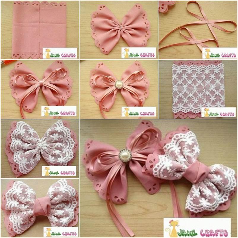 Diy Cute Lolita Style Hair Bows