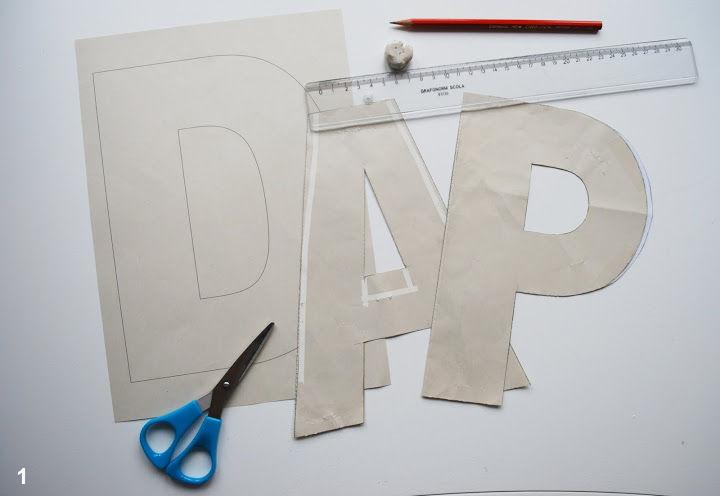 DIY Fabric Alphabet Letter Cushion 1