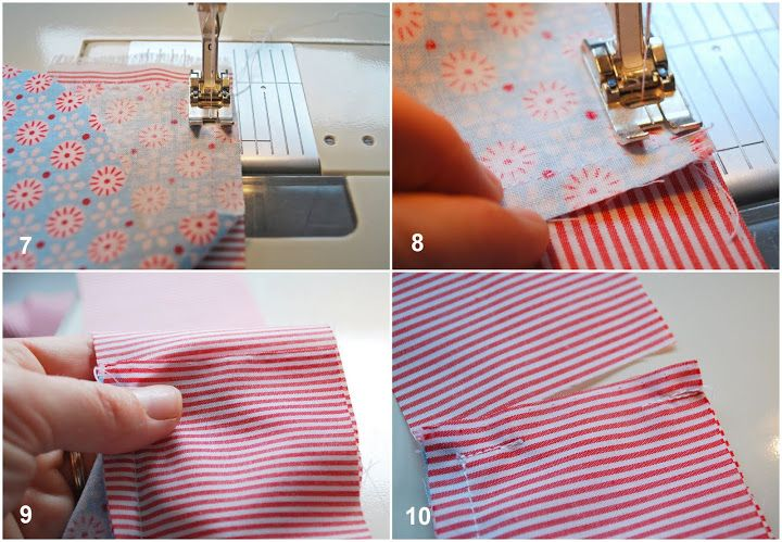 DIY Fabric Alphabet Letter Cushion 4