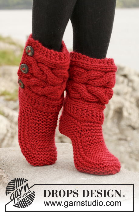 40 Stylish Knitted And Crochet Slipper Boots FREE Patterns Best Free Crochet Slipper Boots Patterns For Adults
