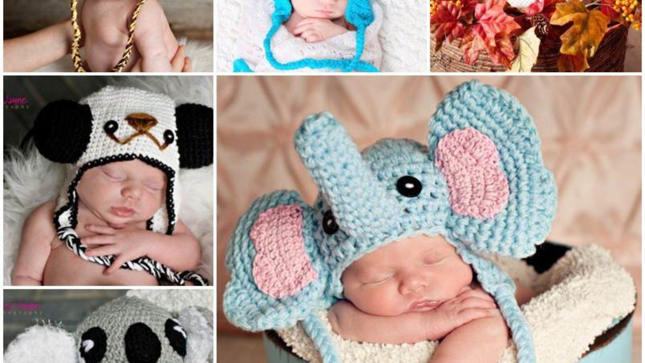 Crochet Elephant Hat Elephant Ears Beanie by LaurenAshleysThings ... | 720x1280