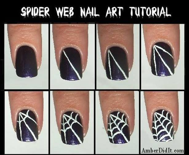 89 Spooktacular Halloween Nail Art Diy Ideas