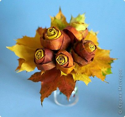 Creative Ideas – DIY Pretty Maple Leaf Rose 10