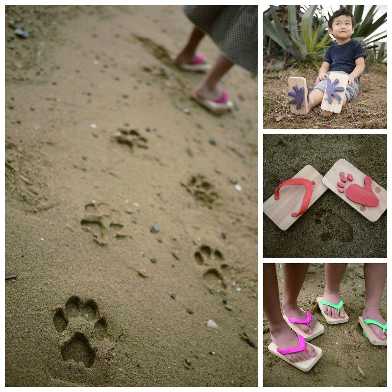 Creative Ideas - Animal Print Beach Sandals
