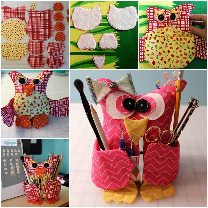 Creative Ideas Diy Adorable Fabric Owl