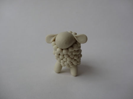 Creative Ideas - DIY Adorable Polymer Clay Sheep 12