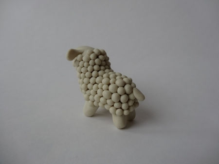 Creative Ideas - DIY Adorable Polymer Clay Sheep 15