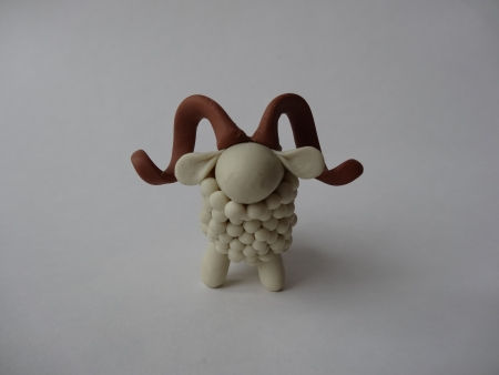 Creative Ideas - DIY Adorable Polymer Clay Sheep 19