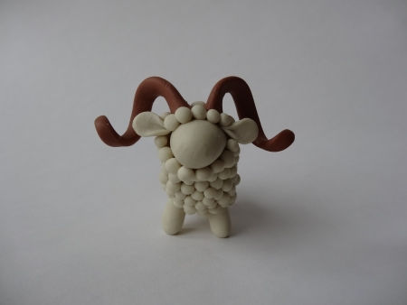 Creative Ideas - DIY Adorable Polymer Clay Sheep 20