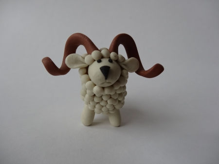 Creative Ideas - DIY Adorable Polymer Clay Sheep 21