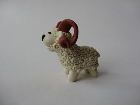 Creative Ideas - DIY Adorable Polymer Clay Sheep 23