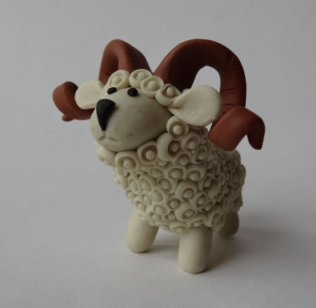 Creative Ideas - DIY Adorable Polymer Clay Sheep 24