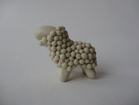 Creative Ideas - DIY Adorable Polymer Clay Sheep 8
