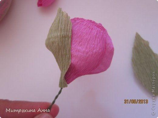 Creative Ideas - DIY Chocolate English Rose 19