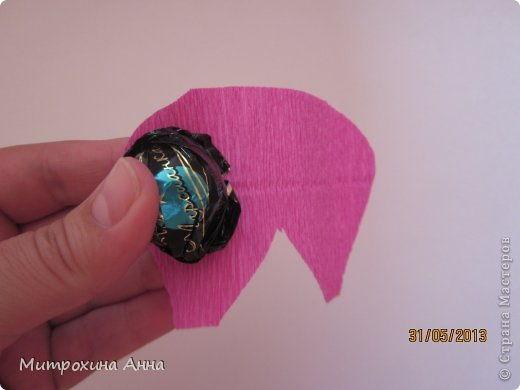 Creative Ideas - DIY Chocolate English Rose 6