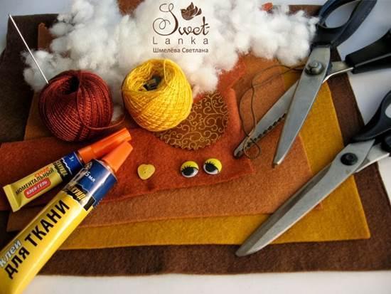 Creative Ideas - DIY Cute Felted Owls 1