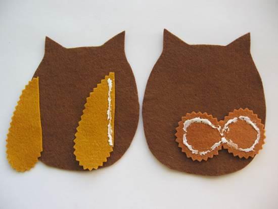 Creative Ideas - DIY Cute Felted Owls 4