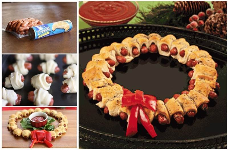 Creative Ideas DIY Mini Sausage Wreath