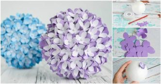 Diy crepe paper pomander balls archives i creative ideas creative ideas diy paper flower kissing ball for wedding mightylinksfo