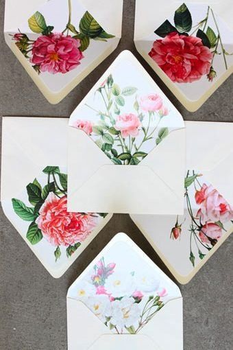 Creative Ideas - DIY Pretty Envelops with Templates 10