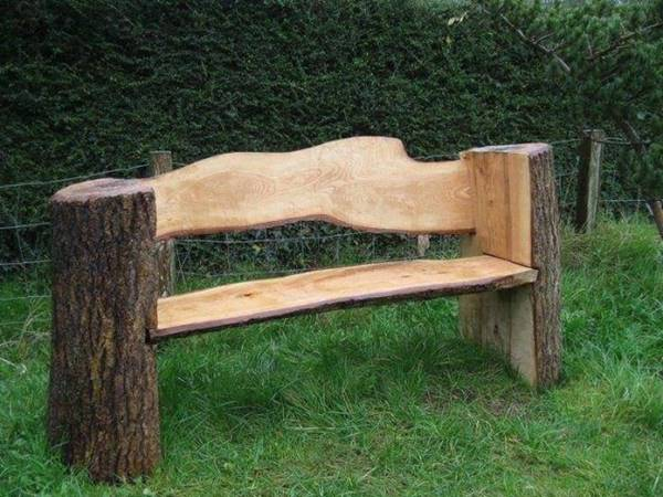 Stunning Tree Trunk Garden Furniture Stunning Tree Trunk Garden Furniture. Creative Ideas   Stunning Tree Trunk Garden Furniture